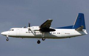 Fokker 50 exterieur