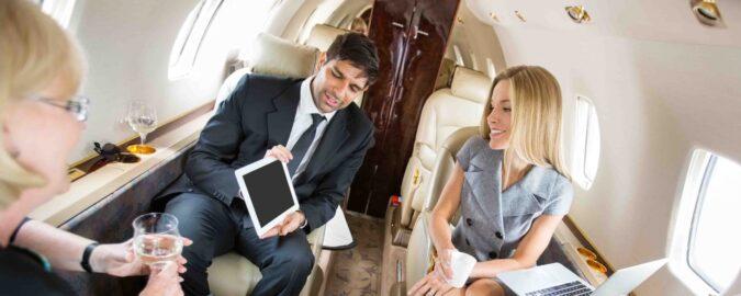 Privejet huren zakenreis