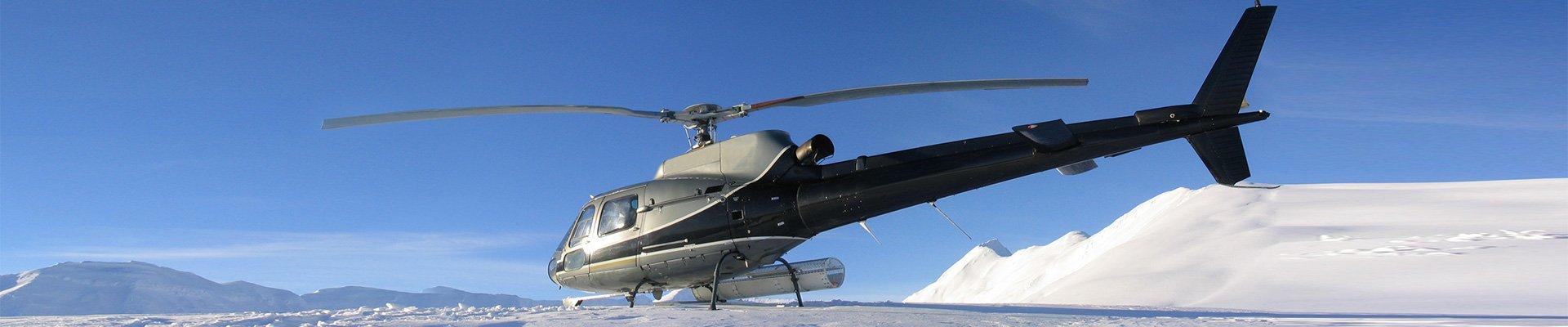 helikopter verhuur